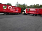 Spratt Logistics Trucks