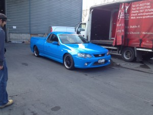 car shipping to all over the world from Dublin, Ireland